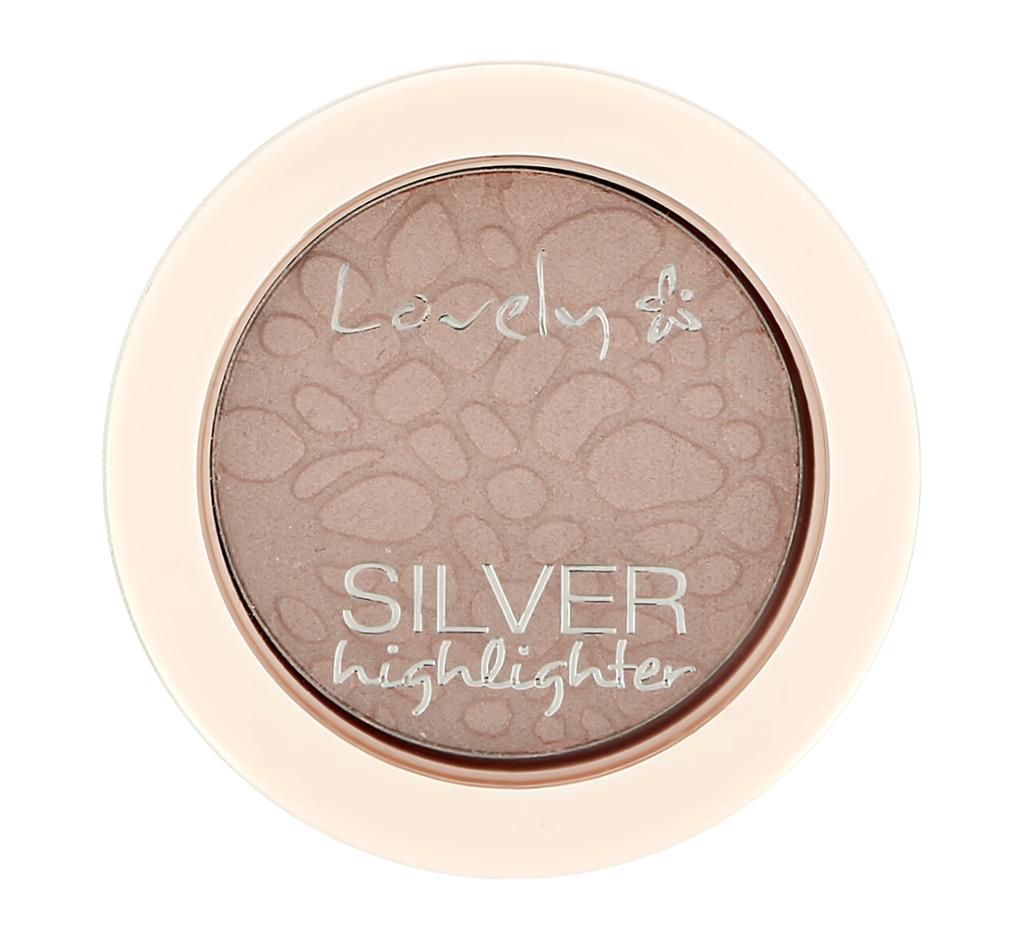 Хайлайтер для лица Lovely Silver Highlighter