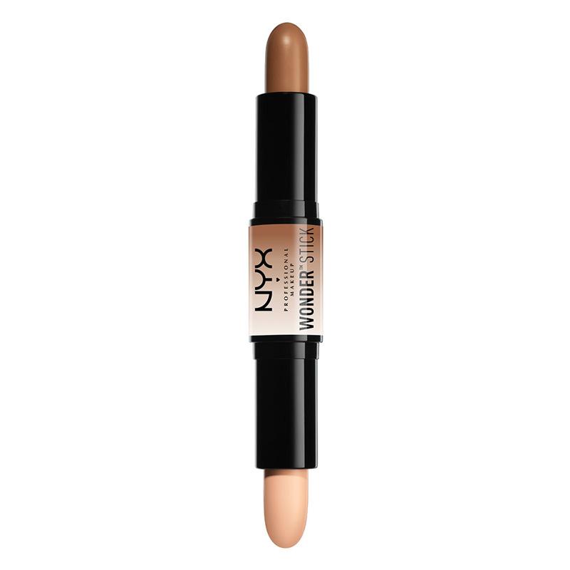 Консилер для лица NYX Professional Makeup Wonder Stick тон 02 Medium для контурирования двусторонний