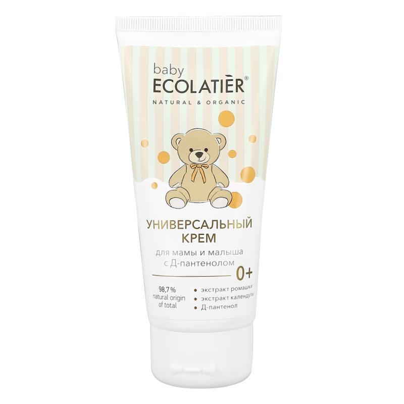 Крем детский Ecolatier Baby универсальный для мамы и малыша с Д-пантенолом 0+