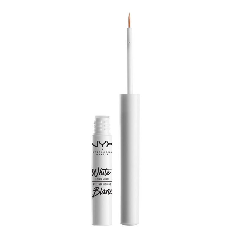 Лайнер для глаз NYX Professional Makeup White Liquid Liner тон 01 White жидкий