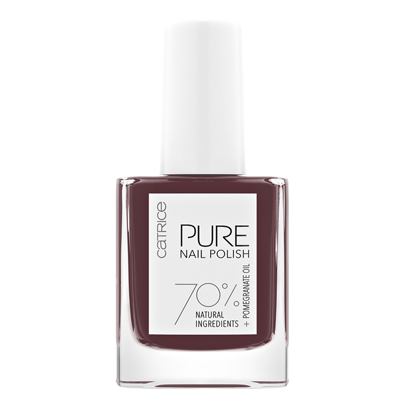 Лак для ногтей Catrice Pure Nail Polish тон 05 Purity (винный нюд)