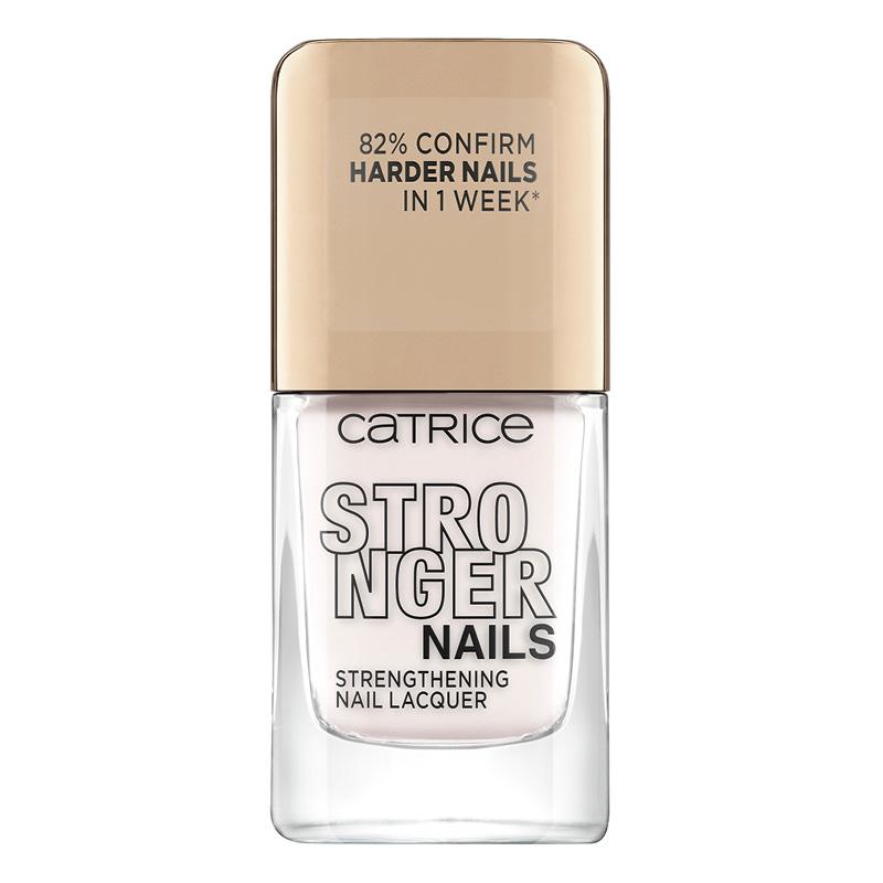 Лак для ногтей Catrice Stronger Nails Strengthening Nail Lacquer тон 04 Milky Rebe
