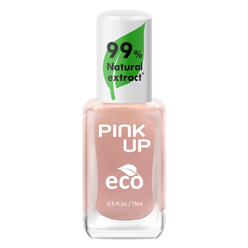 Лак для ногтей Pink Up Eco тон 04 с натуральными ингредиентами