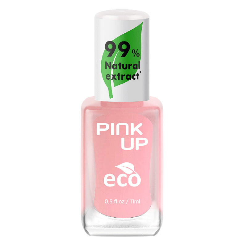 Лак для ногтей Pink Up Eco тон 08 с натуральными ингредиентами