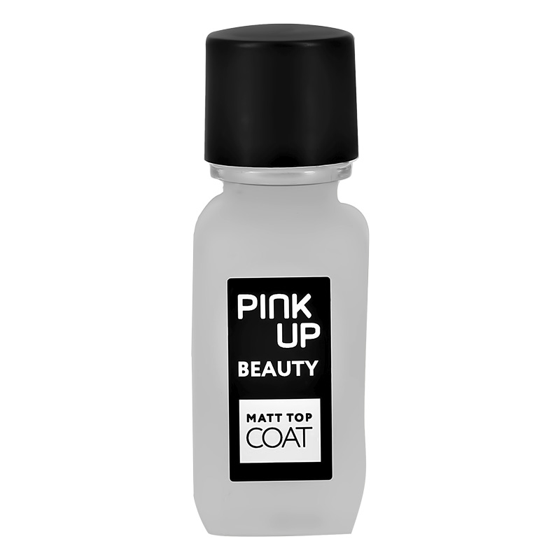 Матирующее верхнее покрытие для ногтей Pink Up Beauty Matt Top Coat