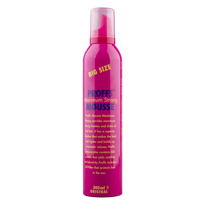 Мусс для укладки волос Proffs Долговременный объем