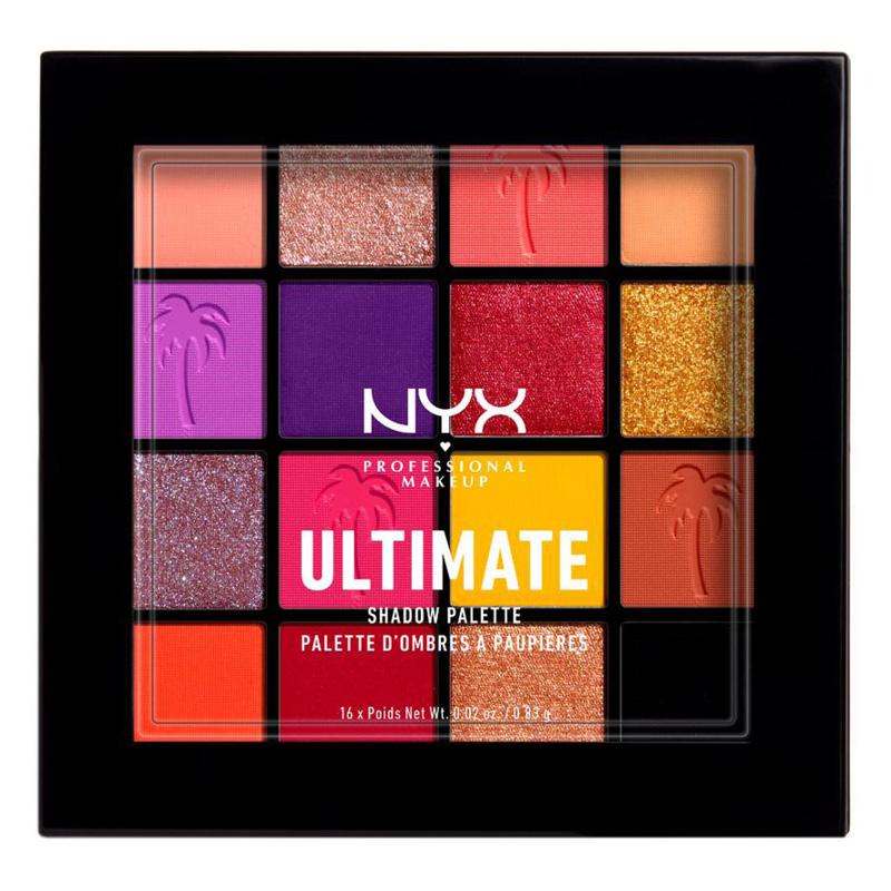 Палетка теней для век Nyx Professional Makeup Ultimate тон Festival