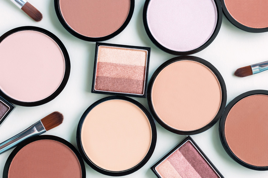 Палитра антивозрастного макияжа: Скульптурирование лица
