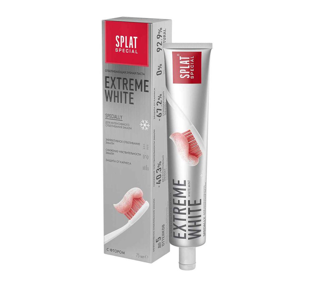 Паста зубная Splat Special Extreme White интенсивное отбеливание зубов