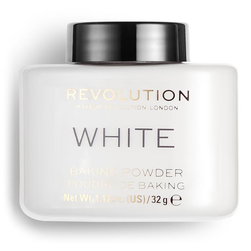 Пудра рассыпчатая для лица Revolution Luxury Baking Powder тон White
