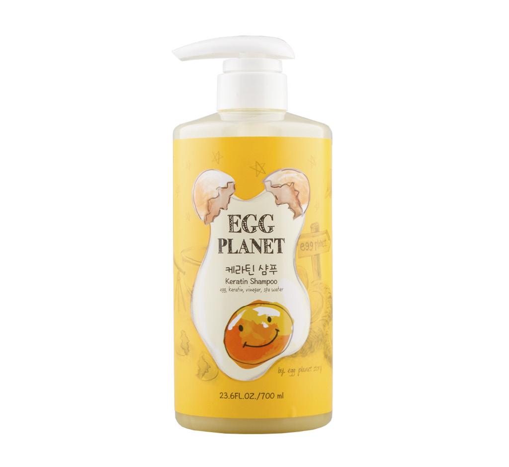 Шампунь для волос Egg Planet с кератином